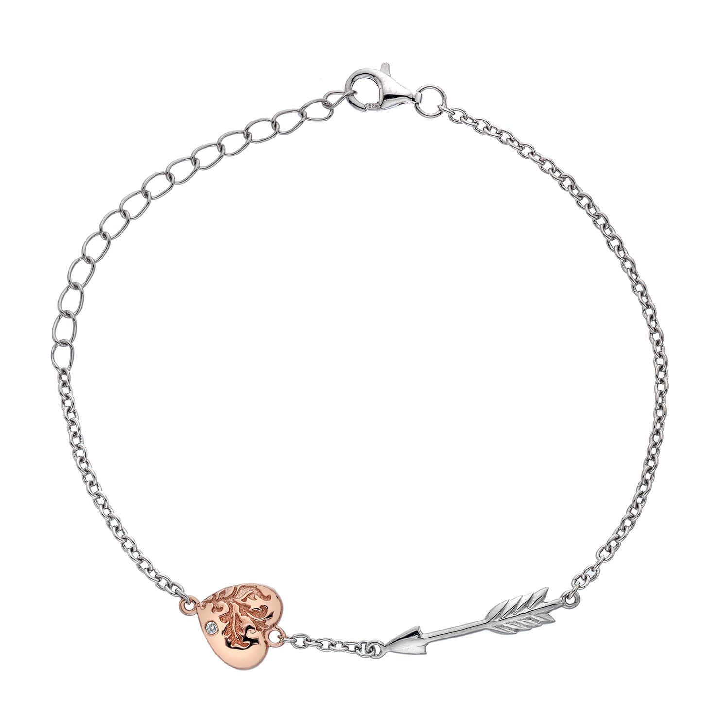 Hot Diamonds Sterling Silver Cupid Bracelet - Product number 5946972
