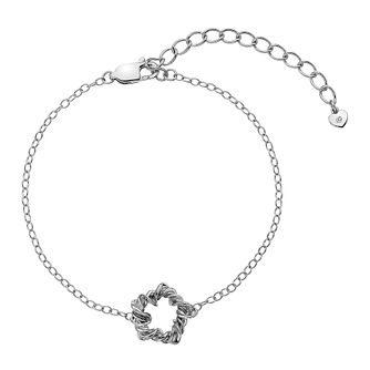 Hot Diamonds Sterling Silver Vine Star Bracelet - Product number 5946980