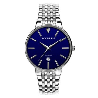 Accurist Diamond Stainless Steel Bracelet Watch - Product number 5946999