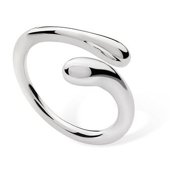 Lucy Quartermaine Silver 925 Open Drop Ring - Product number 5952492