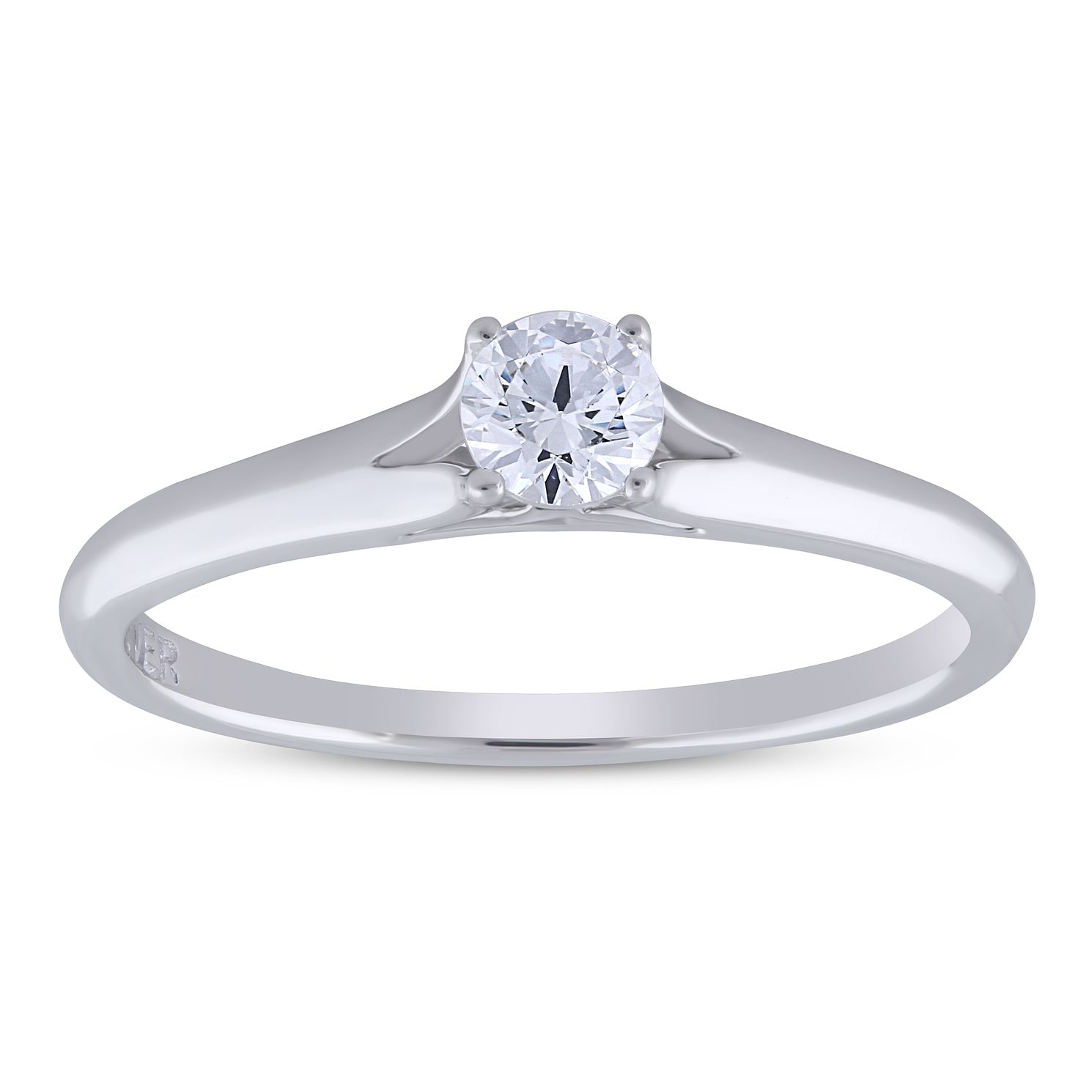The Forever Diamond 18ct White Gold 0.25ct Ring - Product number 5958474