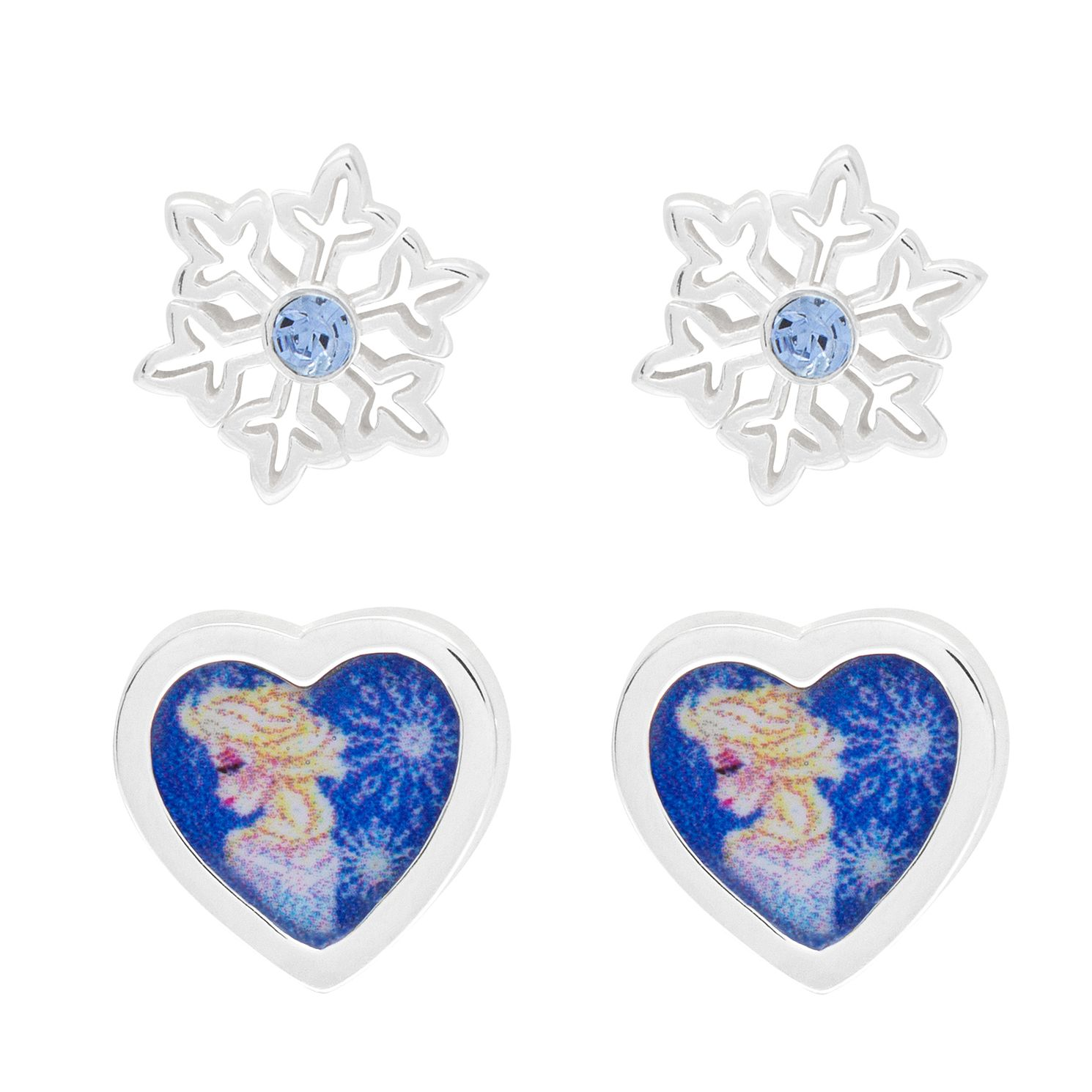 Disney Children's Frozen Silver Stud Earrings Gift Set - Product number 6003710