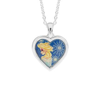 Disney Children's Frozen Silver Elsa Necklace - Product number 6003729