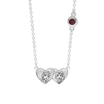Disney Children's Frozen Silver Sisters Necklace - Product number 6003745