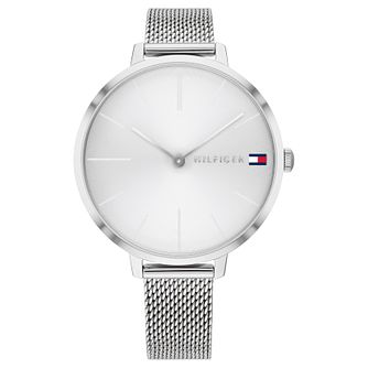 Tommy Hilfiger Ladies' Stainless Steel Mesh Bracelet Watch - Product number 6005047