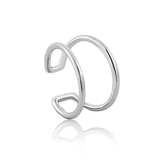 Ania Haie Sterling Silver Modern Ear Cuff - Product number 6006892