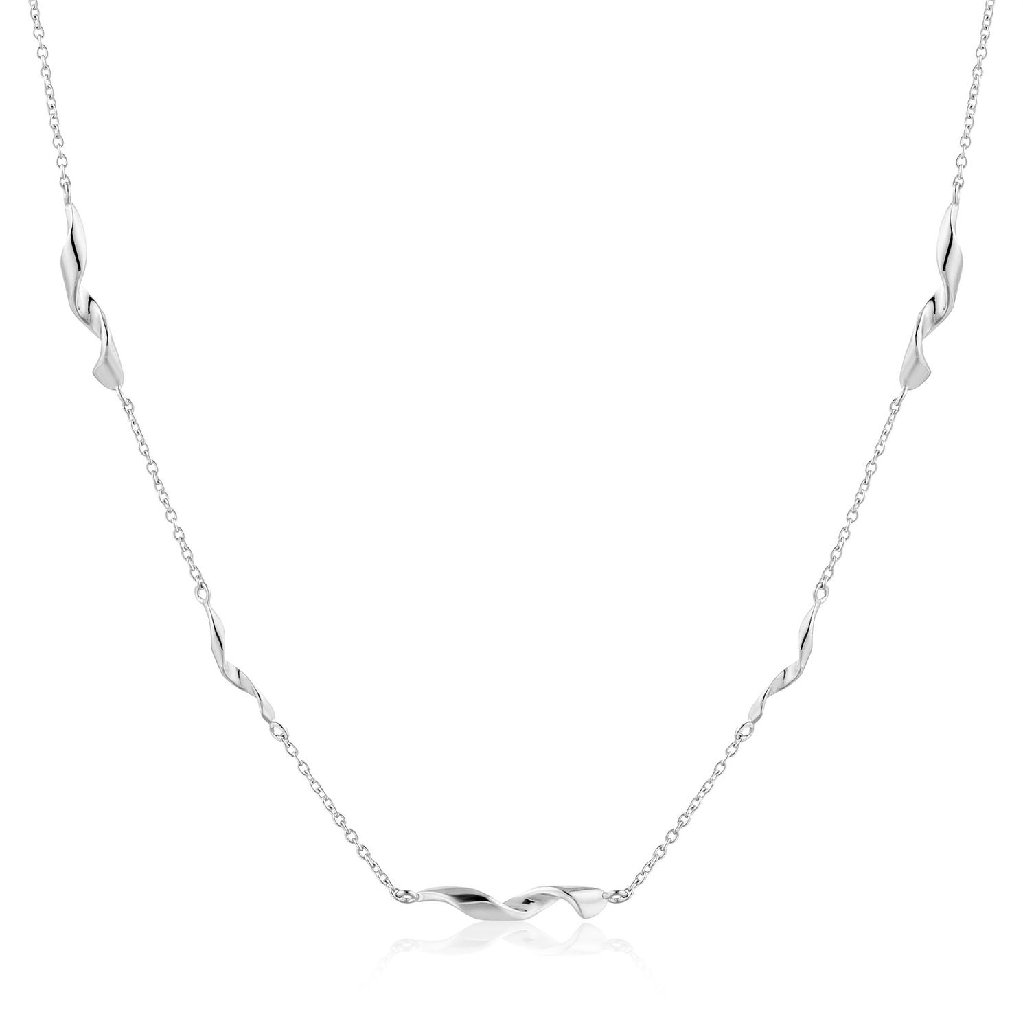 Ania Haie Sterling Silver Helix Necklace - Product number 6007023