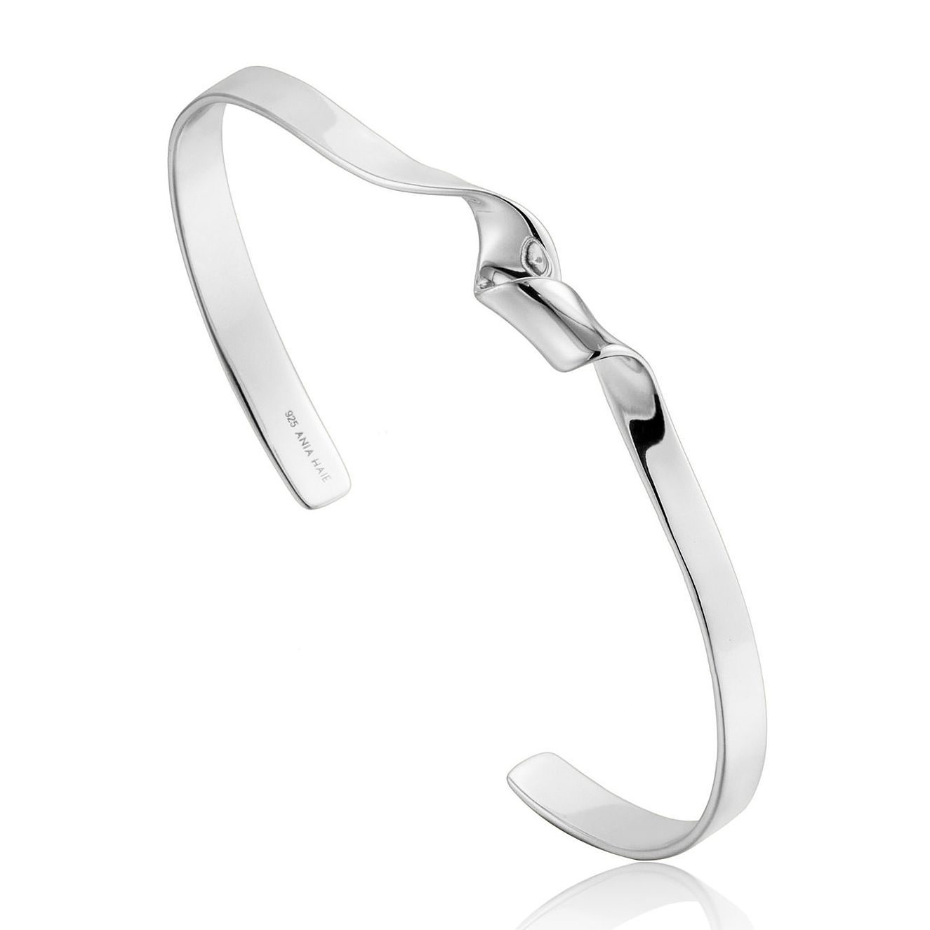 Ania Haie Sterling Silver Twist Cuff Bangle - Product number 6007252
