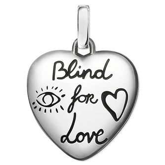 Gucci Sterling Silver Blind For Love Charm - Product number 6008577