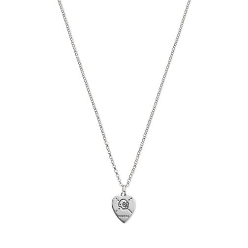 Gucci Ghost Silver Heart Pendant - Product number 6008623