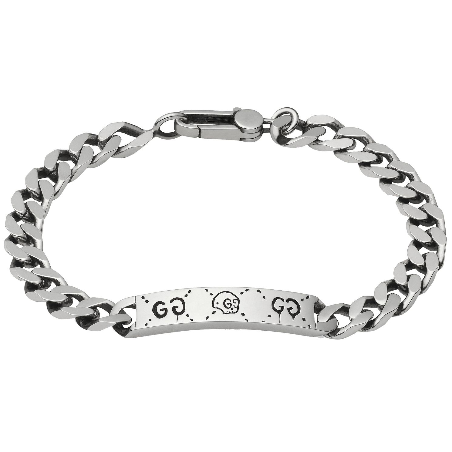 Gucci Ghost Sterling Silver Id Bracelet - Product number 6008658