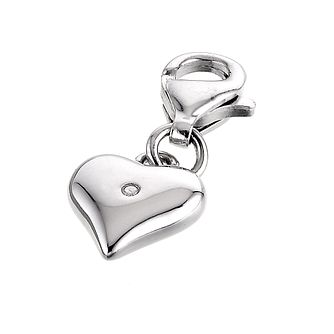 Hot Diamonds Love Token Silver Charm - Product number 6010814