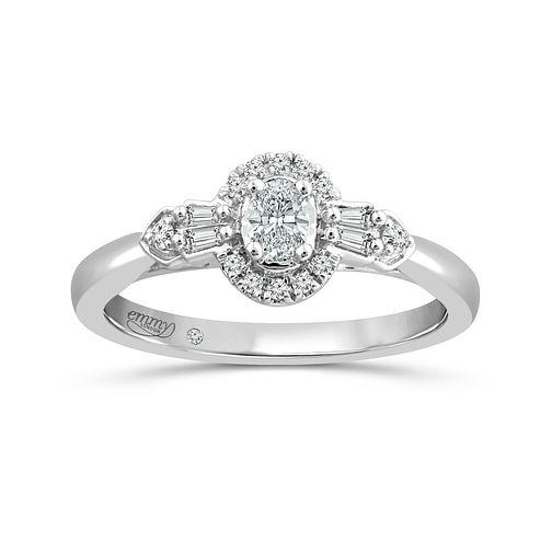Emmy London Platinum 1/4Ct Diamond Ring - Product number 6036546