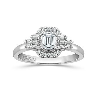 Emmy London 18ct White Gold 1/2ct Diamond Fancy Ring - Product number 6040543