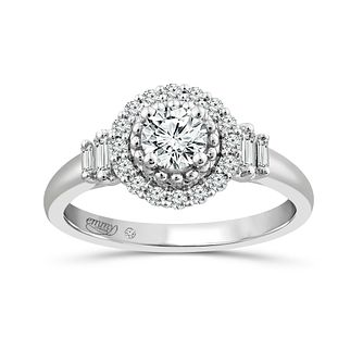 Emmy London Platinum 0.60ct Diamond Ring - Product number 6041566