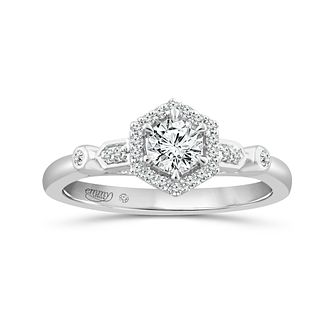 Emmy London 18Ct White Gold 0.40Ct Diamond Ring - Product number 6041949