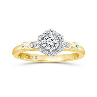 Emmy London 18Ct Yellow Gold 0.40Ct Diamond Ring - Product number 6042090