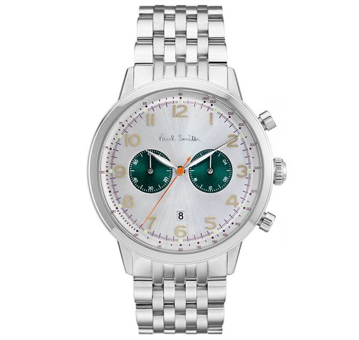 Paul Smith Precision 42mm Men's Stainless Steel Watch - Product number 6043402