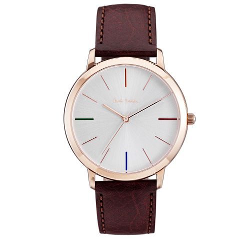 Paul Smith MA 41mm Men's Rose Gold Tone Strap Watch - Product number 6048900