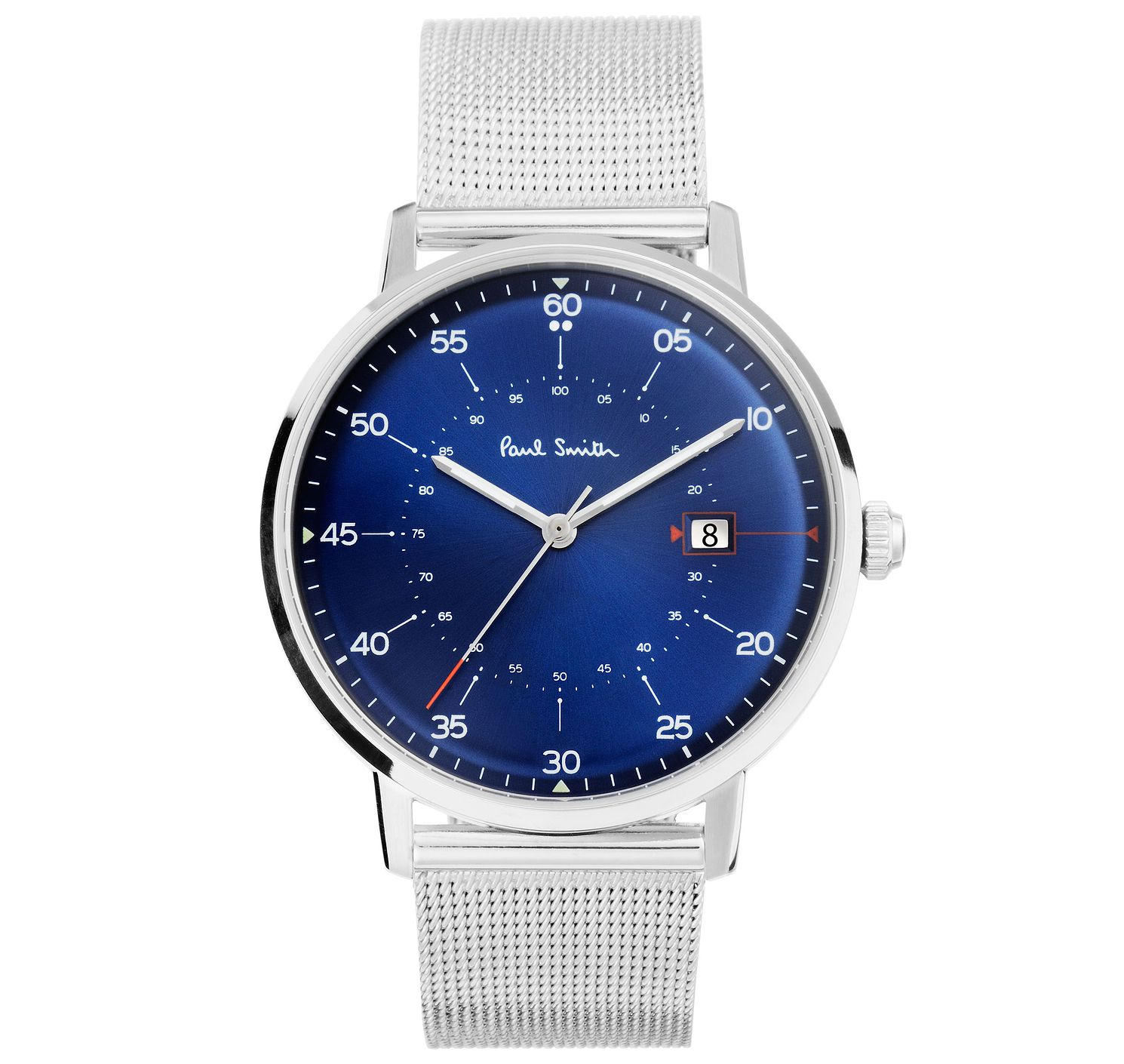 Paul Smith Gauge 41mm Men's Stainless Steel Bracelet Watch - Product number 6049133