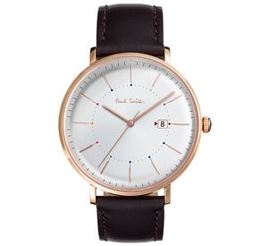 Paul Smith Track 41mm Men's Rose Gold Tone Strap Watch - Product number 6049184