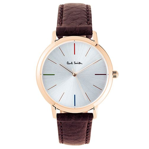 Paul Smith MA 38mm Men's Rose Gold Tone Strap Watch - Product number 6049362