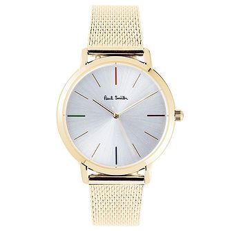 Paul Smith MA Men's Gold Tone Bracelet Watch - Product number 6049389