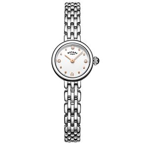 Rotary Ladies' Cocktail Stainless Steel Bracelet Watch - Product number 6076726