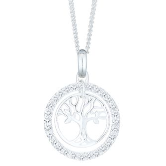 Sterling Silver Tree Of Life Design Pendant - Product number 6082963