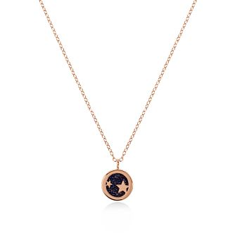 Radley Rose Gold Tone Blue Sandstone Star Pendant - Product number 6088570
