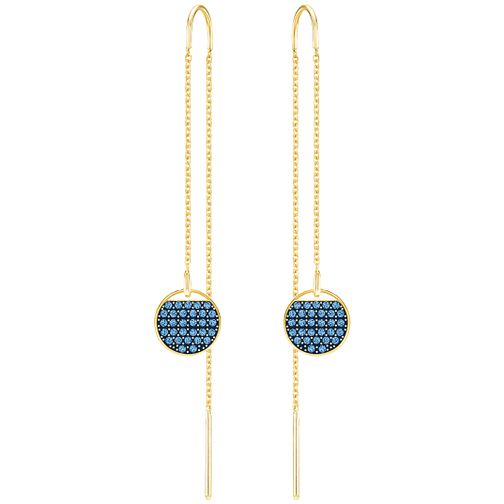 Swarovski Ginger Gold Plated Drop Earrings - Product number 6100465