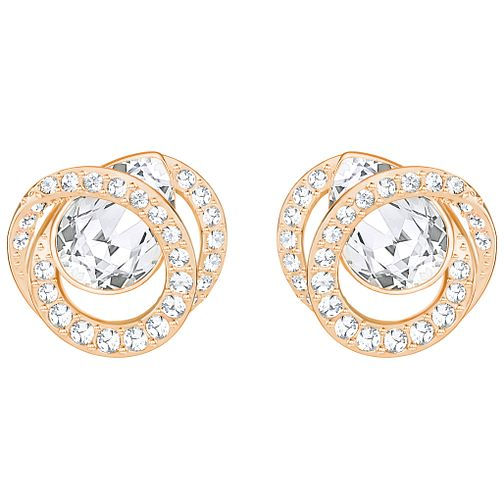 a4b7649ba Swarovski Generation Rose Gold Plated Stud Earrings - Product number 6100546