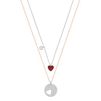 Swarovski Crystal Wishes Two Colour Crystal Necklace - Product number 6100643