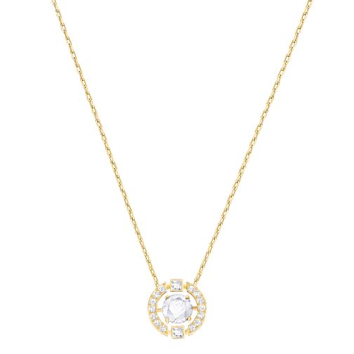 Swarovski Sparkling Dance Gold Plated Pendant - Product number 6100767
