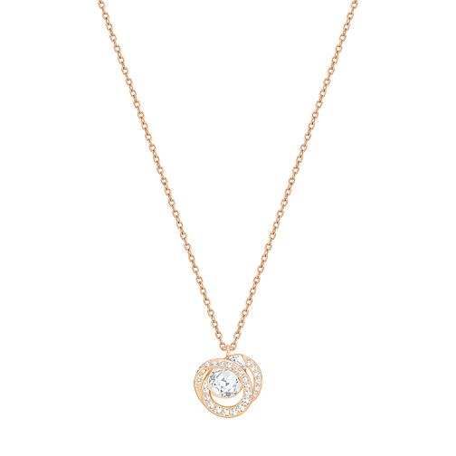 Swarovski Generation Rose Gold Plated Crystal Pendant - Product number 6100791