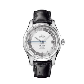 Omega De Ville Hour Vision men's stainless steel strap watch - Product number 6100929