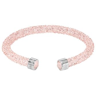 Swarovski Pink Crystal Dust Bangle - Product number 6100945
