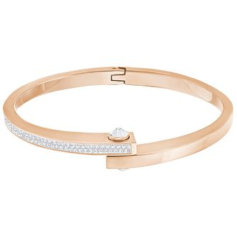 Swarovski Get Rose Gold Plated Bangle - Product number 6100988