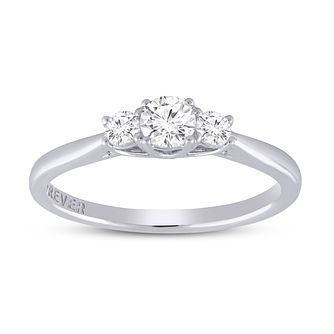 The Forever Diamond 18ct White Gold 2/5ct Diamond Ring - Product number 6107966
