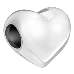 Chamilia Sterling Silver Heart Bead - Product number 6128157