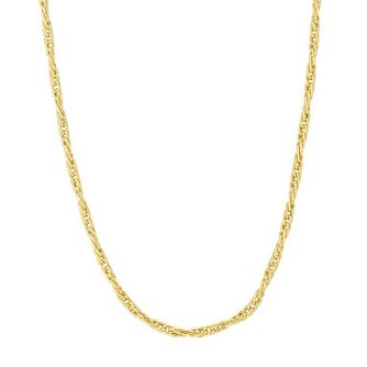 "9ct Gold 36"" Twisted Wheat Necklace - Product number 6138756"