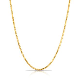 "9ct Gold 24"" Wheat Necklace - Product number 6138772"