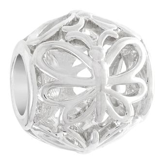 Chamilia Sterling Silver Openwork Butterfly Charm - Product number 6142885