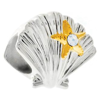 Chamilia Sterling Silver Just Shellin Charm - Product number 6143075