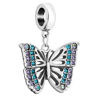 Chamilia Rainforest Butterfly Charm with Swarovski Crystal - Product number 6143504