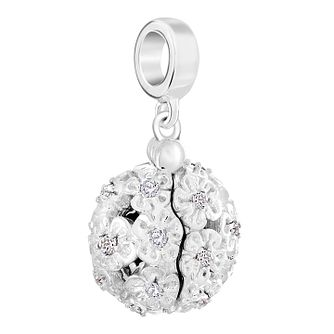 Chamilia Sterling Silver Flower Pomander Message Charm - Product number 6143547