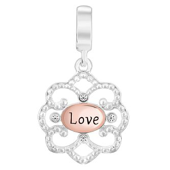 Chamilia Sterling Silver Forever Love Filigree Charm - Product number 6143814