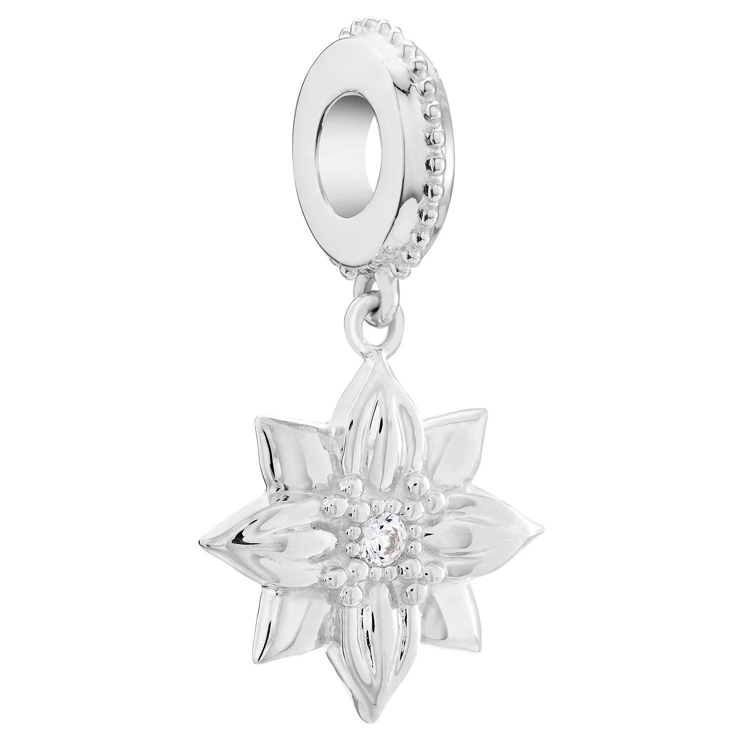 Chamilia Sterling Silver Love Grows Rosebud Charm - Product number 6143857