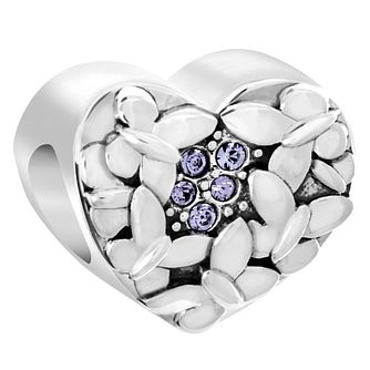 Chamilia Sterling Silver Butterfly Love Charm - Product number 6143903