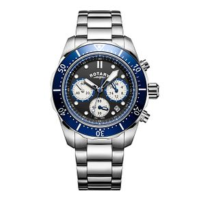 Rotary Men's Sports Stainless Steel Chronograph Watch - Product number 6145019